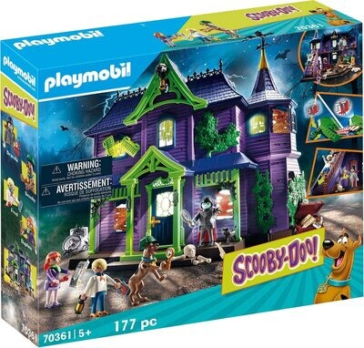 Playmobil 70361 Scooby Doo Adventure in the Mystery Mansion