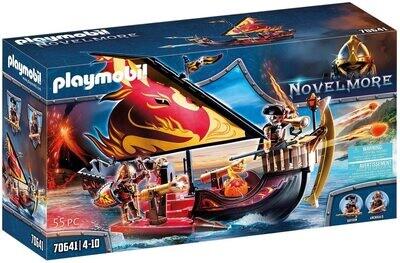 Playmobil 70641 Burnham Raiders Fire Ship