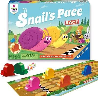 Janod Snails Race Game/Puzzle