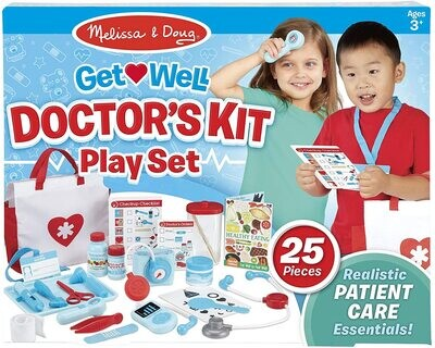 MD Get Well Doctor's Kit Play Set