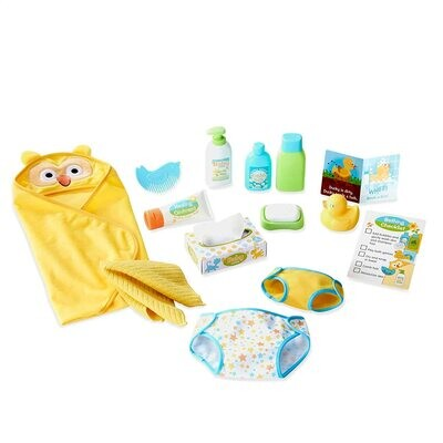 MD Mine to Love Changing & Bathtime Play Set