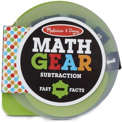 MD Math Gears Subtraction