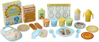 MD Mine to Love Mealtime Play Set