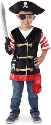 MD Pirate Role Play Costume Set