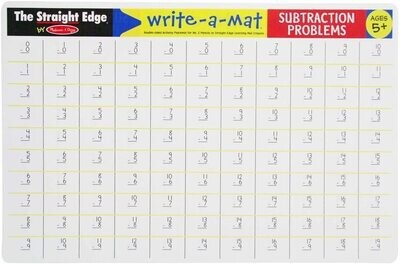 MD Learning Mat Subtractions