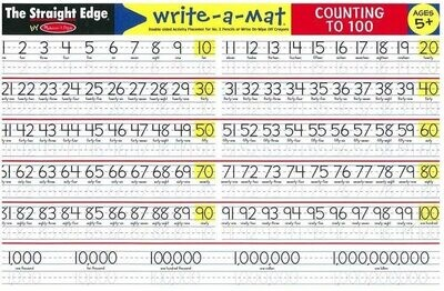 MD Learning Mat Counting to 100