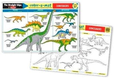 MD Learning Mat Dinosaurs