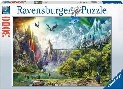 Ravensburger 16462 Reign of Dragons Puzzle