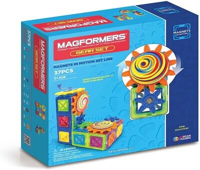 Magformers Magnets in Motion Gear Set