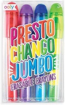 Presto Chango Jumbo Erasable Crayons