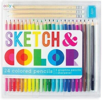 Ooly Sketch & Color