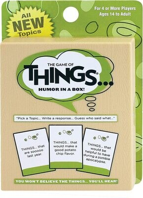 The Game of Things Card Game