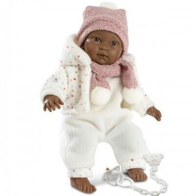 "Llorens Rosa 30005 11"" Soft Body Crying Baby Doll"