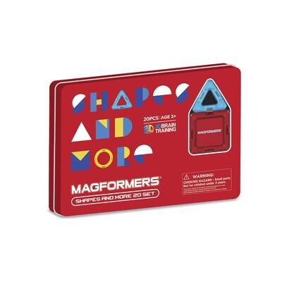 Magformers Shapes and More 20 Pieces