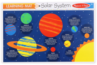 MD Learning Mat Solar System
