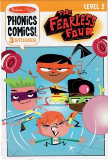 MD Phonics Comics Level 2 The Fearless Four