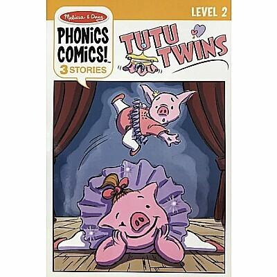 MD Phonics Comics Level 2 Tutu Twins