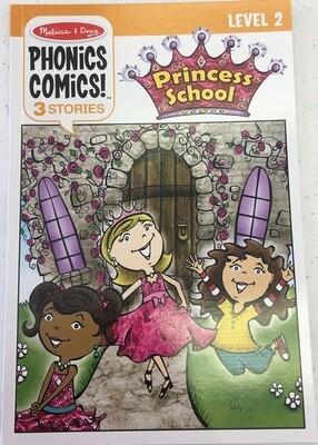 MD Phonics Comics Level 2 Princess School