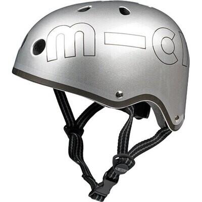 Micro Helmet Silver Matte