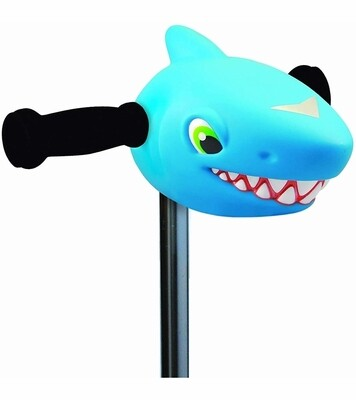 Micro Kickboard Scootaheadz Blue Shark
