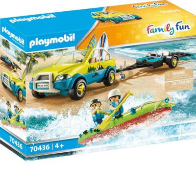 PMB 70436 Beach Car with Canoe