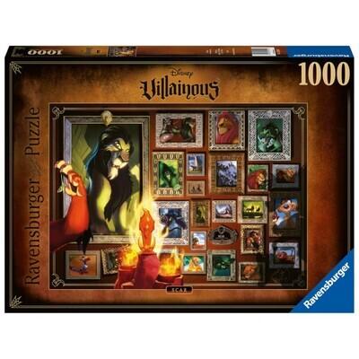 Ravensburger 16524 Disney Villainous: Scar Puzzle