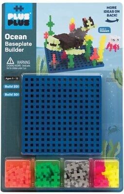 Plus Plus Baseplate Builder- Ocean