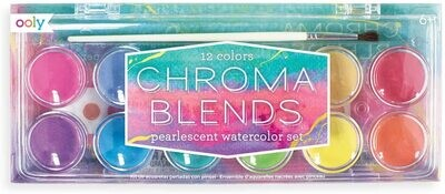 OolyChroma Blends Watercolors - Pearlescent 13 Piece Set