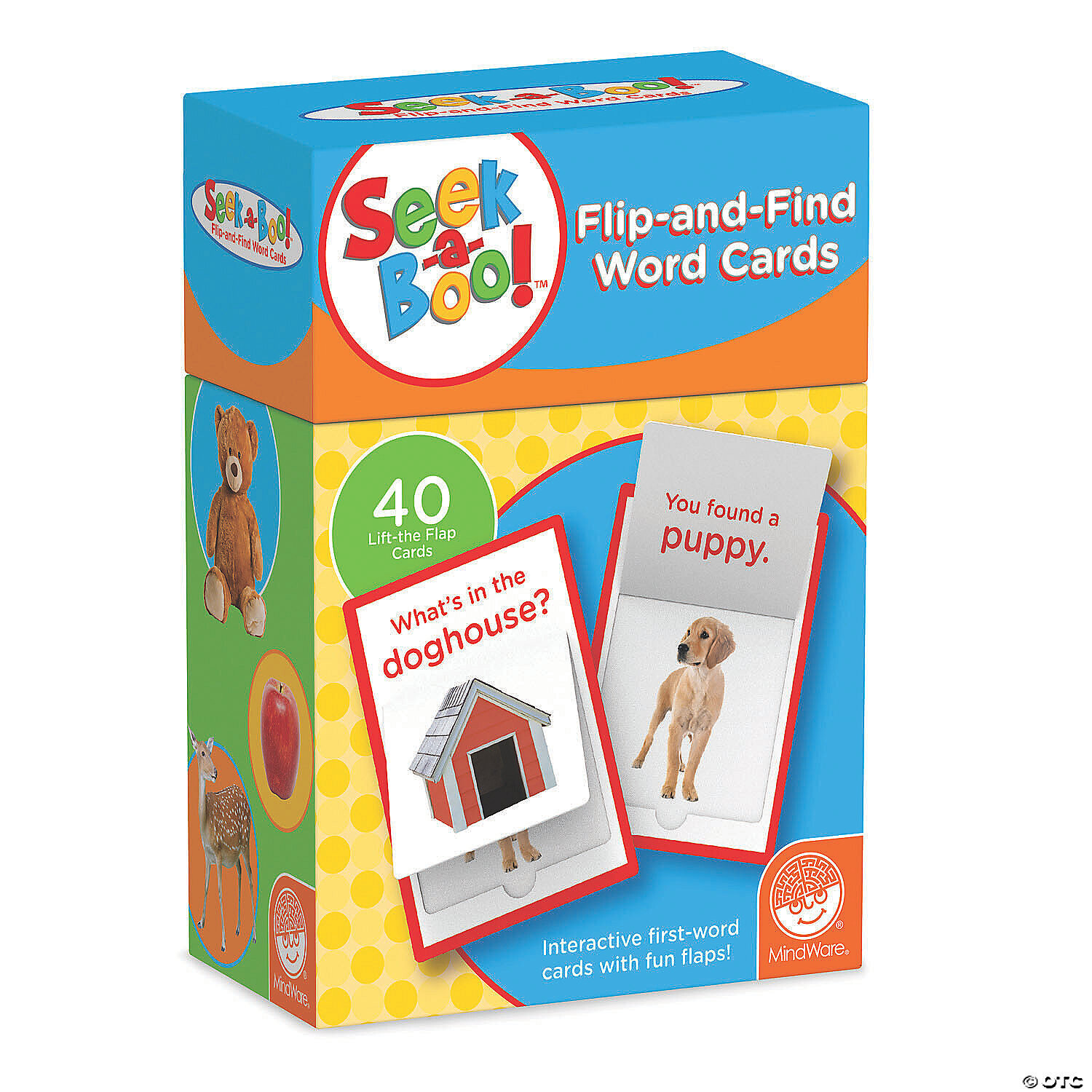 Seek A Boo!: Flip and Find Word Cards