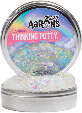 Crazy Aaron's Thinking Putty Trendsetters Rainbow