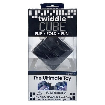 Twiddle Cube Black