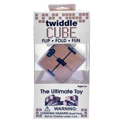 Twiddle Cube Rose Gold