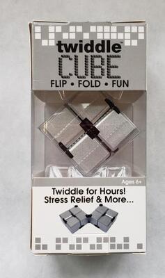 Twiddle Cube Silver