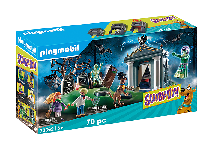 Playmobil 70362 SCOOBY-DOO! Adventure in the Cemetary