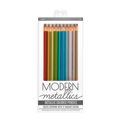 Ooly Modern Metallics Colored Pencils