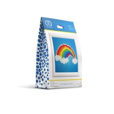 Diamond Dotz Framed Ever Living Rainbow