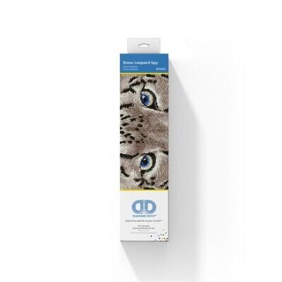 Diamond Dotz Tie Snow Leopard Spy