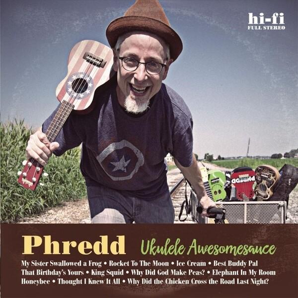 Ukulele Awesomesauce CD