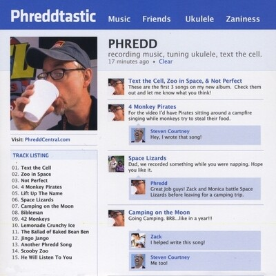 Phreddtastic CD