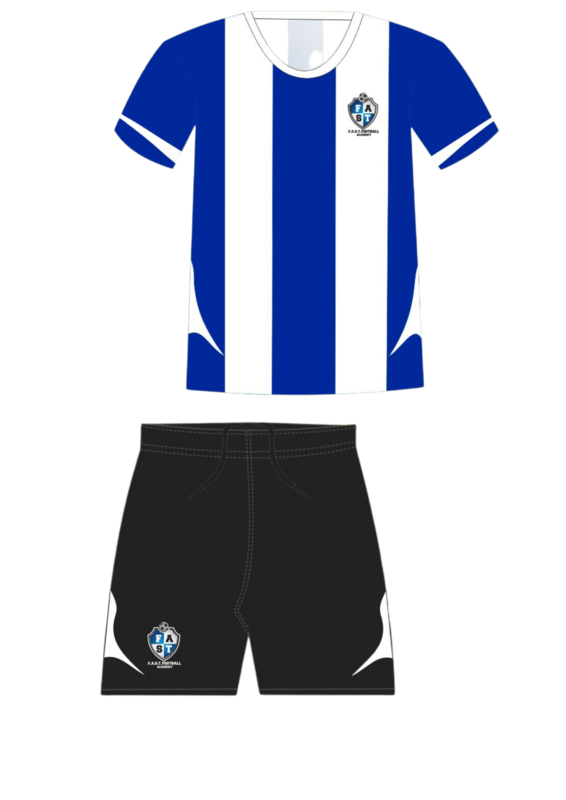 FAST Football Pre school uniform