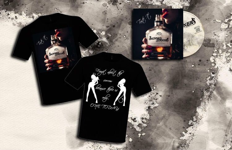 """Taste It"" T-Shirt & CD bundle"