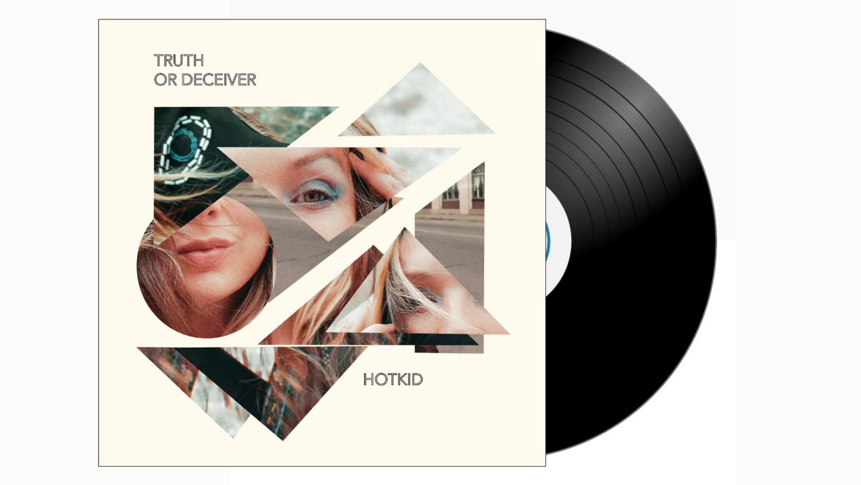 HotKid - Truth or Deceiver LP - BLACK VINYL PRE ORDER