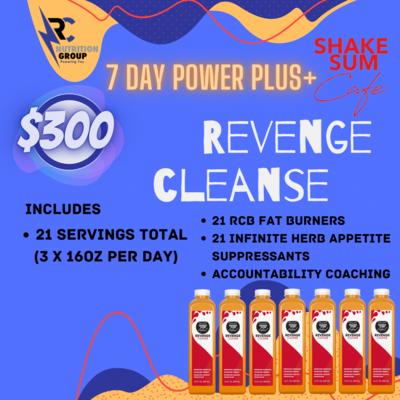 7 Day Power+ Revenge Cleanse
