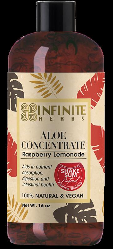 Aloe Juice - 16Oz Raspberry Lemonade