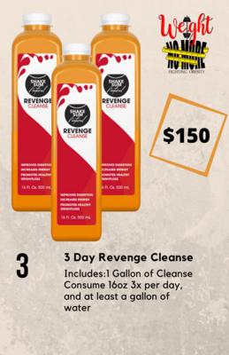 3 Day Revenge Cleanse PRE ORDER