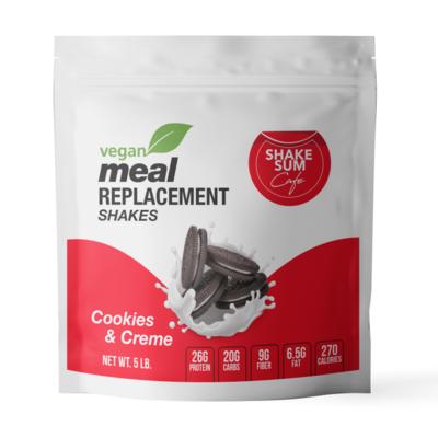 Shake Sum Meal Replacement- VEGAN Cookies & Cream