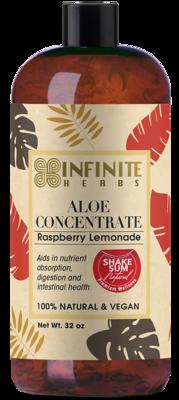 Aloe Juice - 32oz Raspberry Lemonade