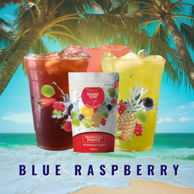 Shake Sum Tea - Blue Raspberry