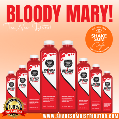 Bloody Mary 3 - Day Detox PRE ORDER ONLY ‼️