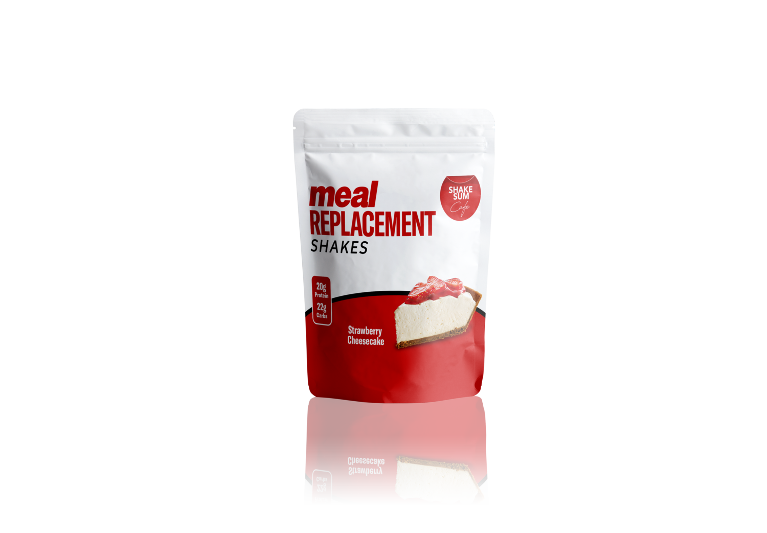 Shake Sum Meal Replacement Single - Strawberry Cheesecake